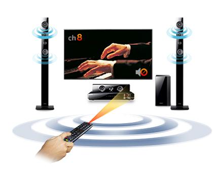 Samsung HT-H5550W TV Sound On