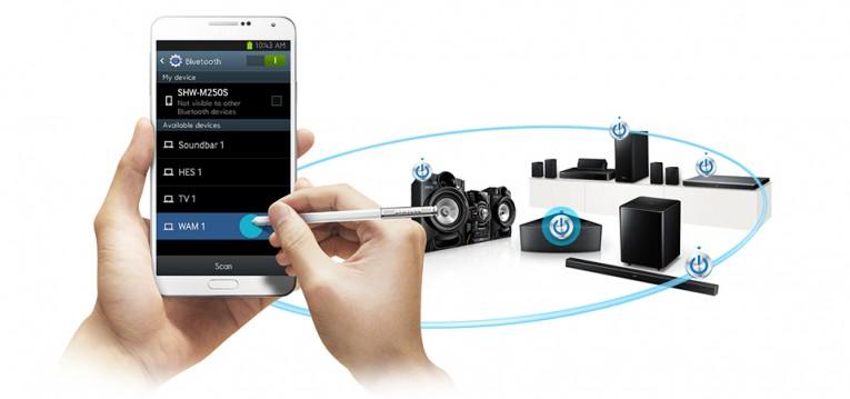 Samsung HT-H5550W Bluetooth