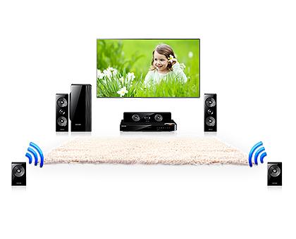 Samsung HT-H5550W Wireless